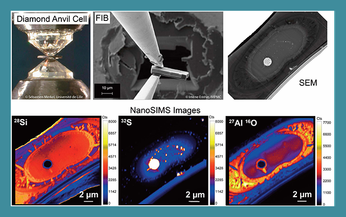 Calendar Competition: NanoSIMS imaging to inderstand planetary differentiation